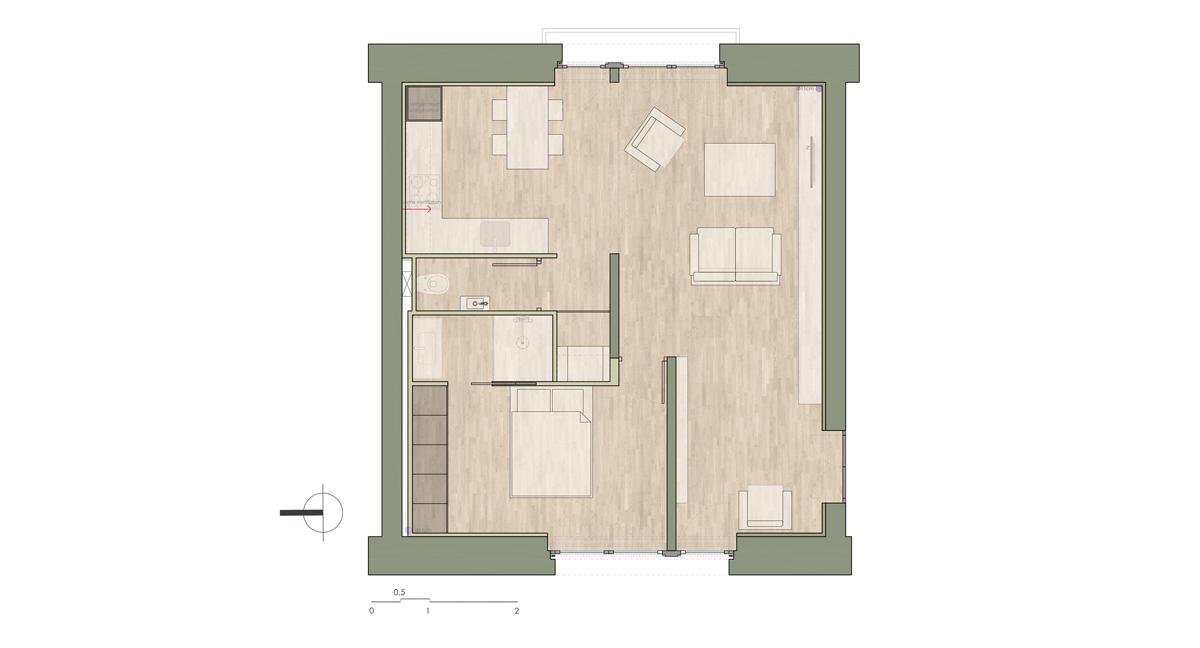 Project Floor Plan - Proposal 2
