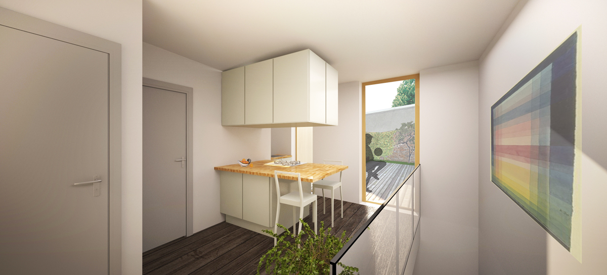 Apartment 1 - Ground Floor Plan - Proposal 2