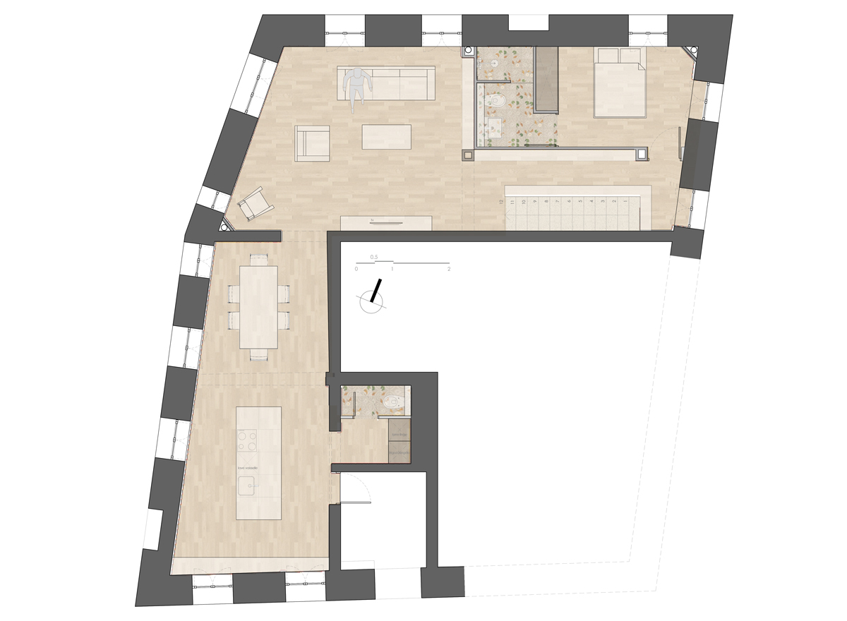 Project Floor Plan - Proposal 1