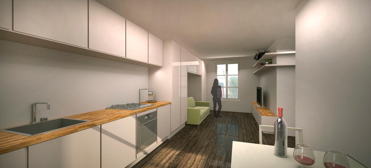 Apartment 2 - 1st Floor Plan