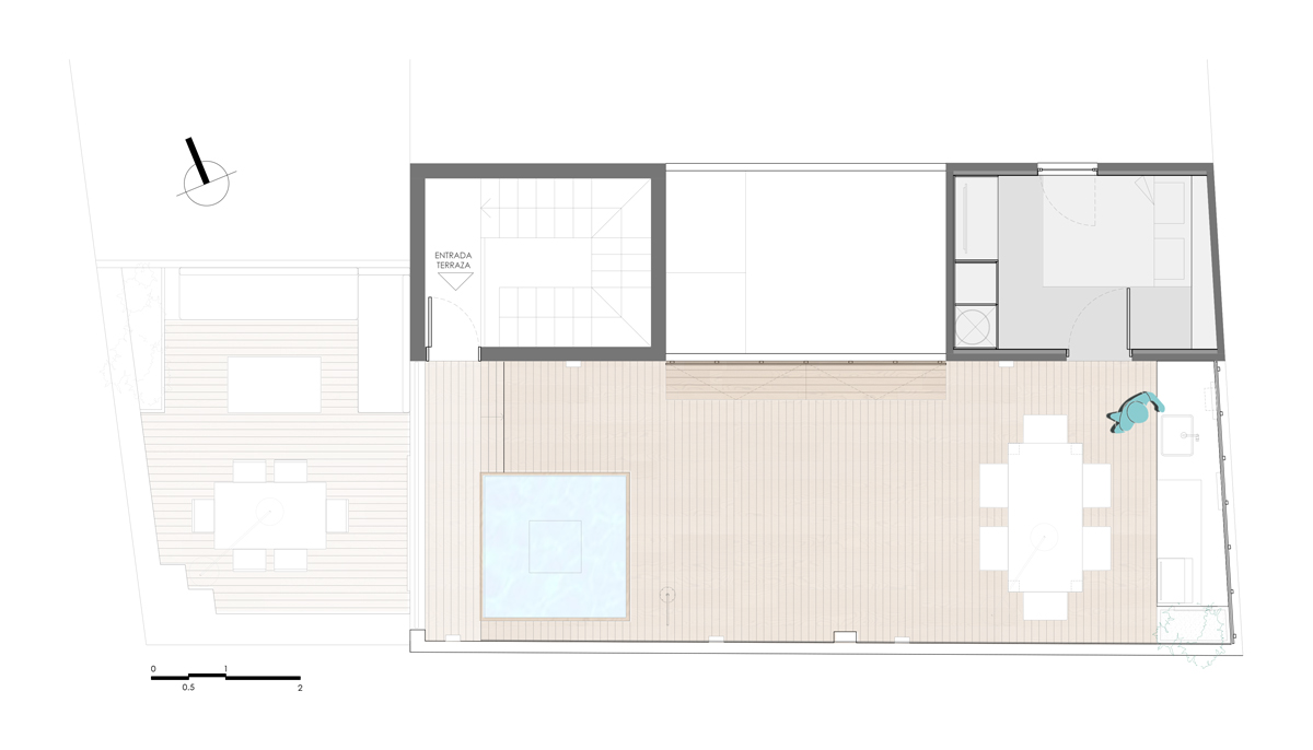 Project terrace plan