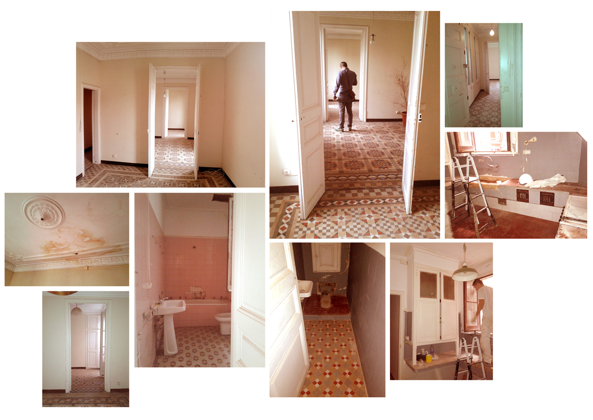 Apartment condition before refurbishment