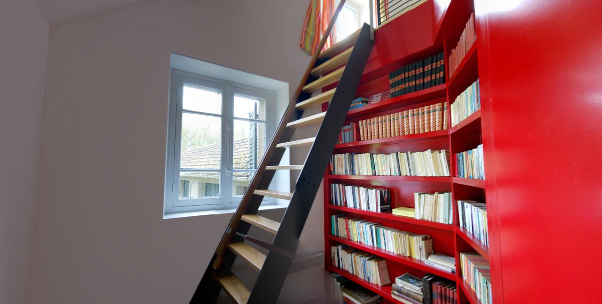Biblioteca/Separador - Ventana planta baja