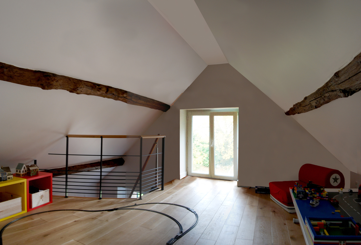 Attic Floor Plan - playroom