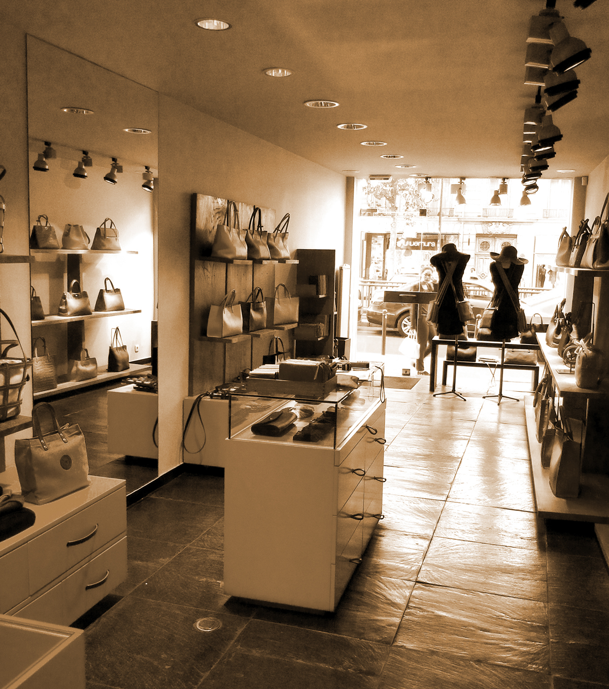 Existing condition of the retail store
