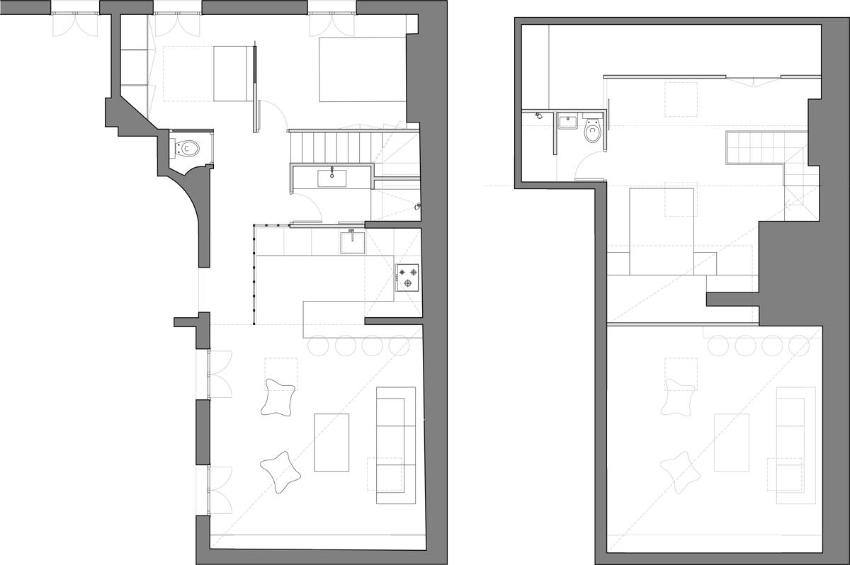 Project Floor Plan / Attic Floor Plan
