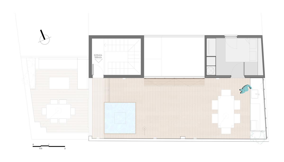 Project terrace plan